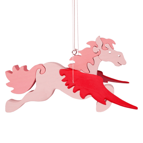 Flying Pink Pegasus Toy
