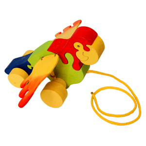 Pull Along Parrot Toy