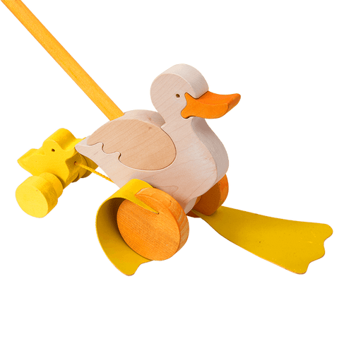 Push Along Duck Toy