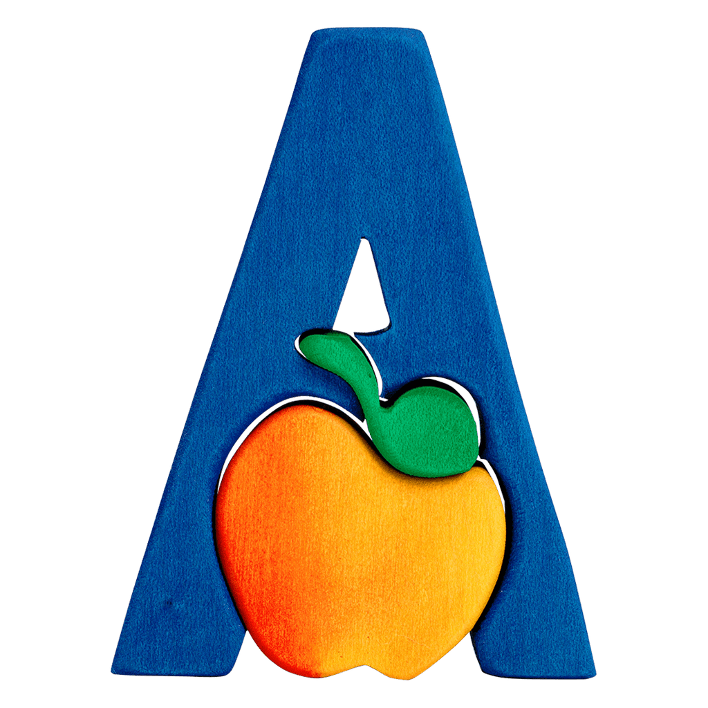 A for Apple Puzzle