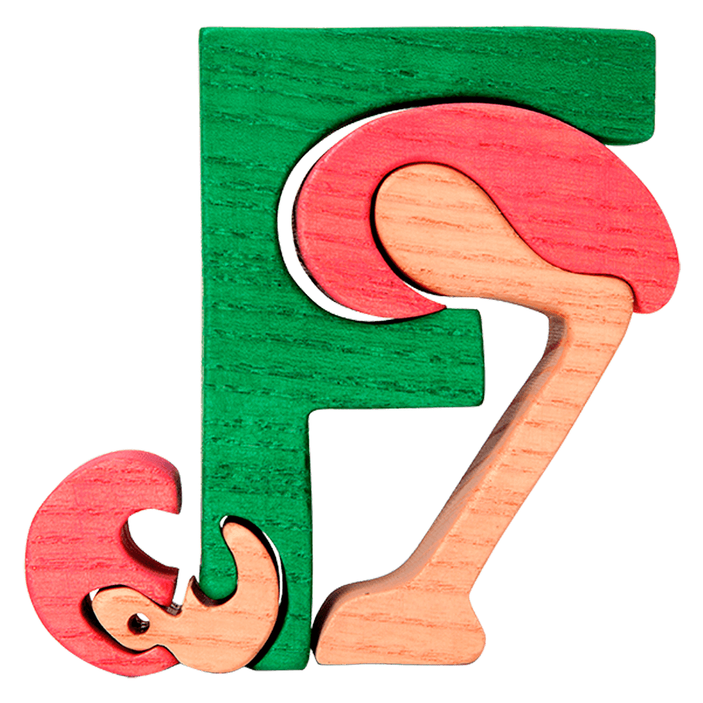 F for Flamingo Puzzle