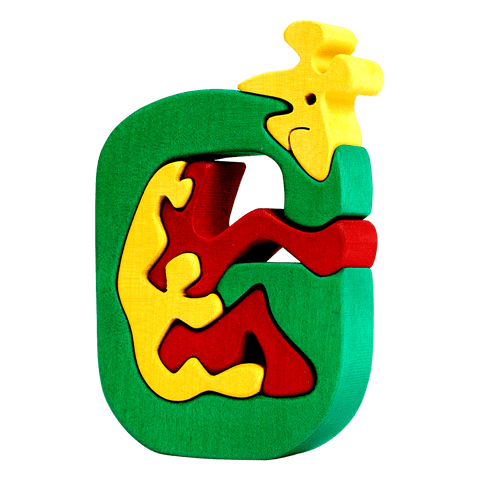 G for Giraffe Puzzle
