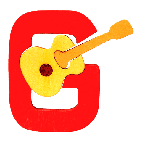 G for Guitar Puzzle