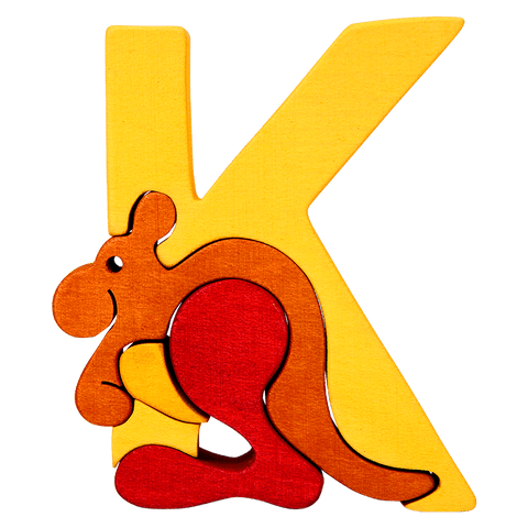 K for Kangaroo Puzzle