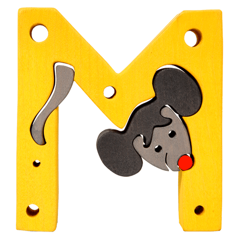 M for Mouse Puzzle