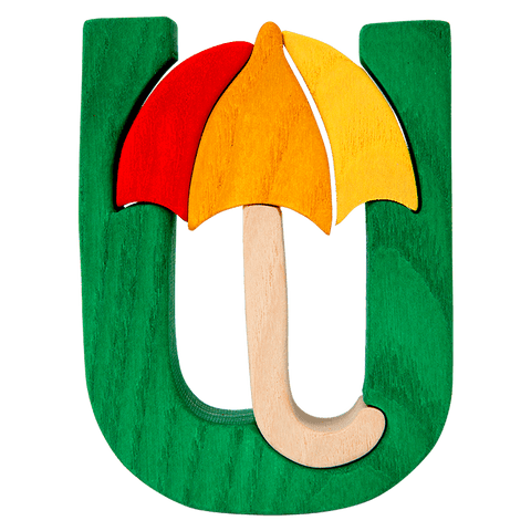 U for Umbrella Puzzle