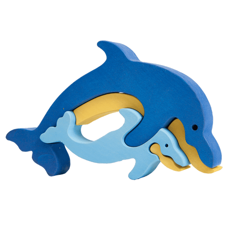 Dolphin Family Puzzle