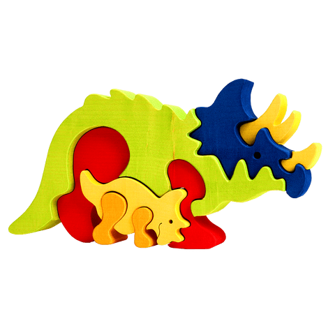 Triceratops Family Puzzle
