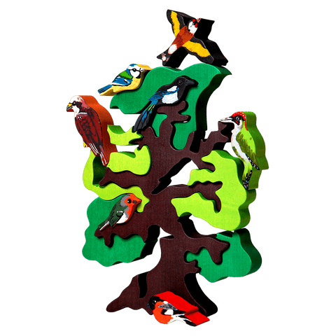 European Bird Tree Puzzle