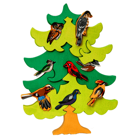 North European Bird Tree Puzzle