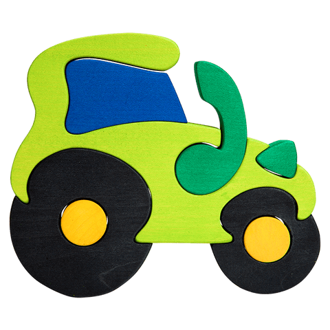 Green Tractor Puzzle