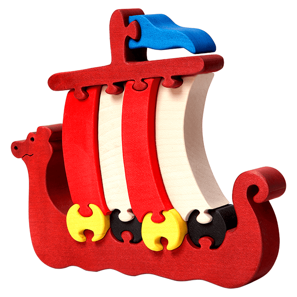 Viking Ship Puzzle
