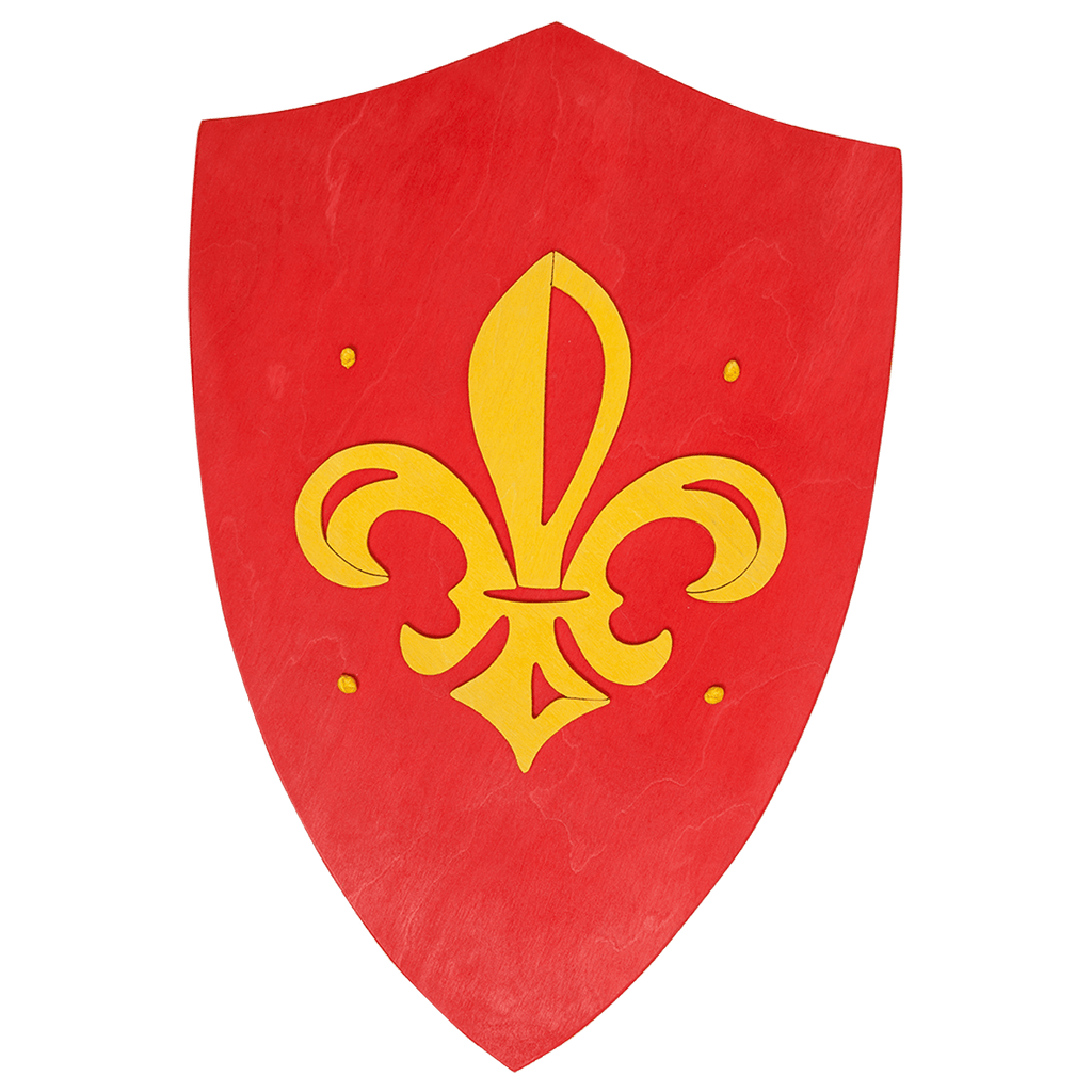 Wooden King's Symbol Shield