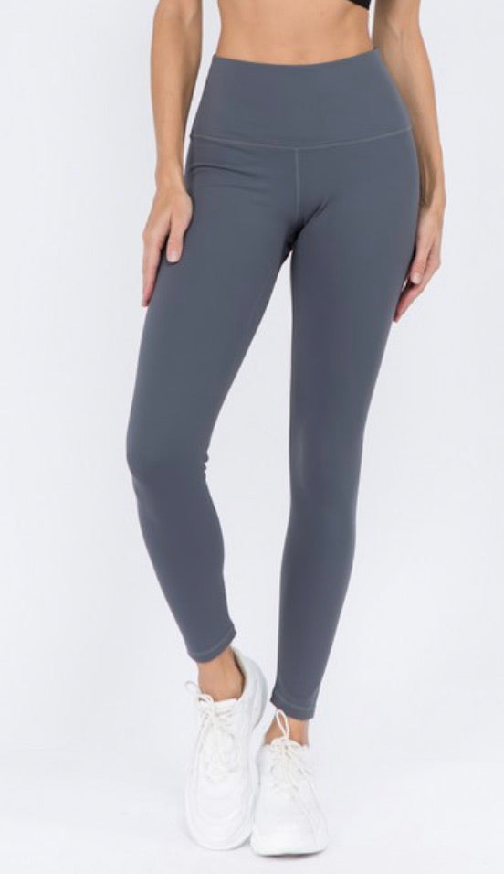 Charcoal Active Leggings