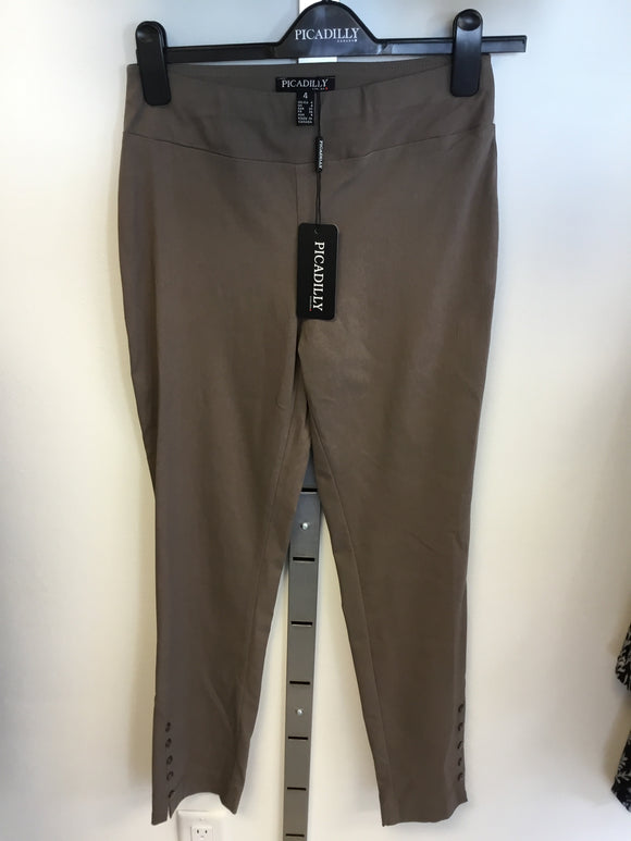 Picadilly Taupe Pants