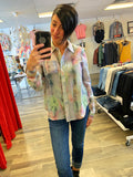 Charlie B Multi Colour Tie Dye Top