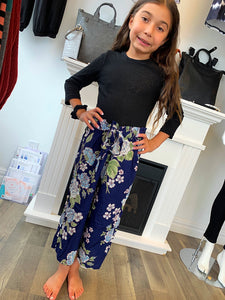 Kids Flower Pants