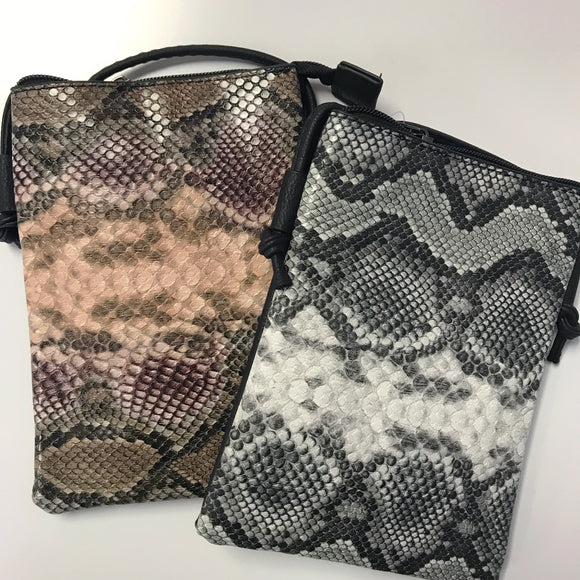 Small Snake Skin Crossbody Purse