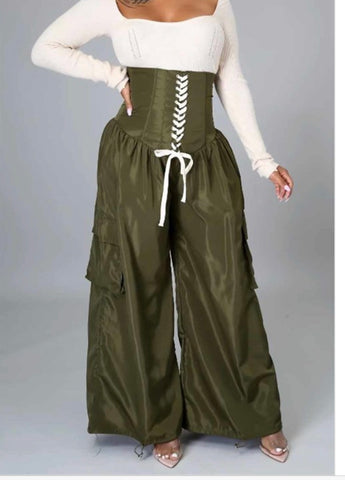 Snatched Up| Corset Pants