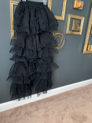 Exaggerated Tulle Pants (Black)