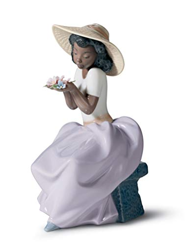 Lladro Sweet Fragrance Porcelain Sculpture