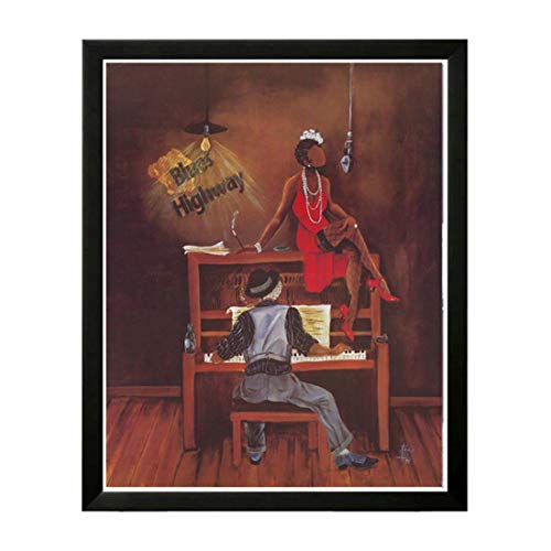 The Art Depot Three on One by Annie Lee (29x25 inches0 inches inches - Black Frame)
