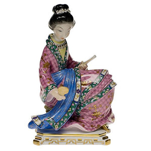 Herend Geisha Figurine Reserve Collection