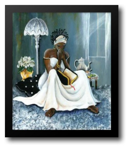 My Cup Runneth Over 25x30 Framed Art Print by Lee, Annie