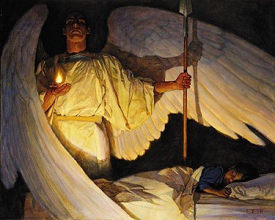 Thomas Blackshear Watchers in The Night (Canvas Edition)