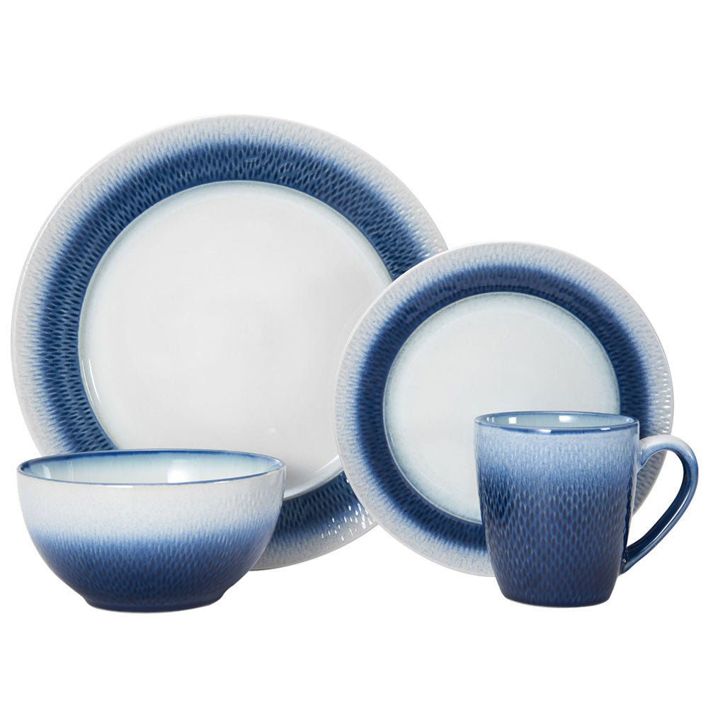 Pfaltzgraff® Eclipse Blue 16 Piece Dinnerware Set
