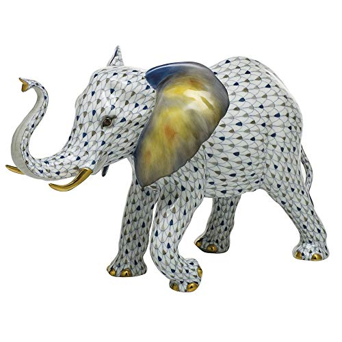 Herend Elephant Porcelain Figurine Reserve Collection