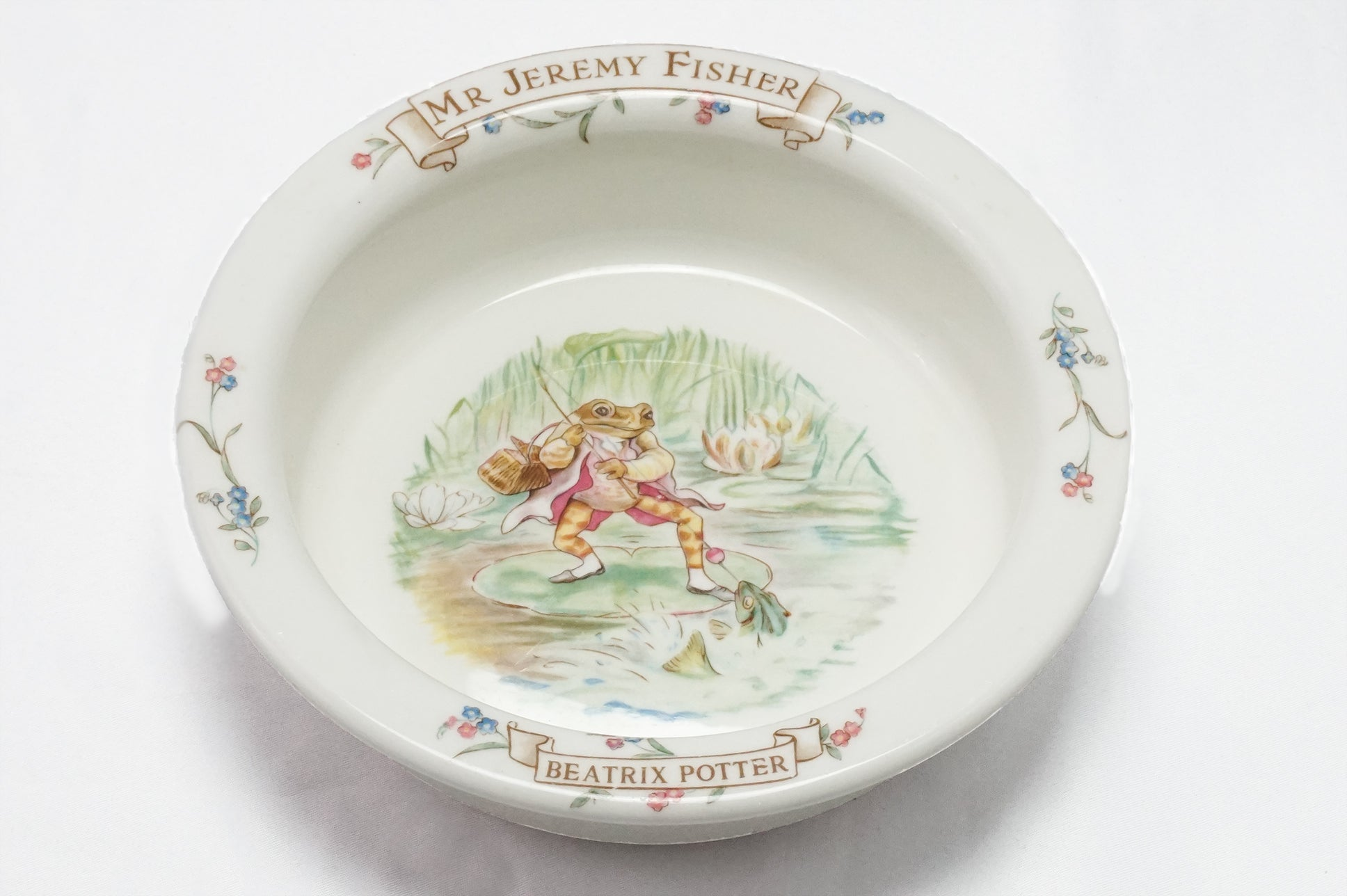 "Royal Albert-""Jeremy Fisher"" Porringer Bowl"