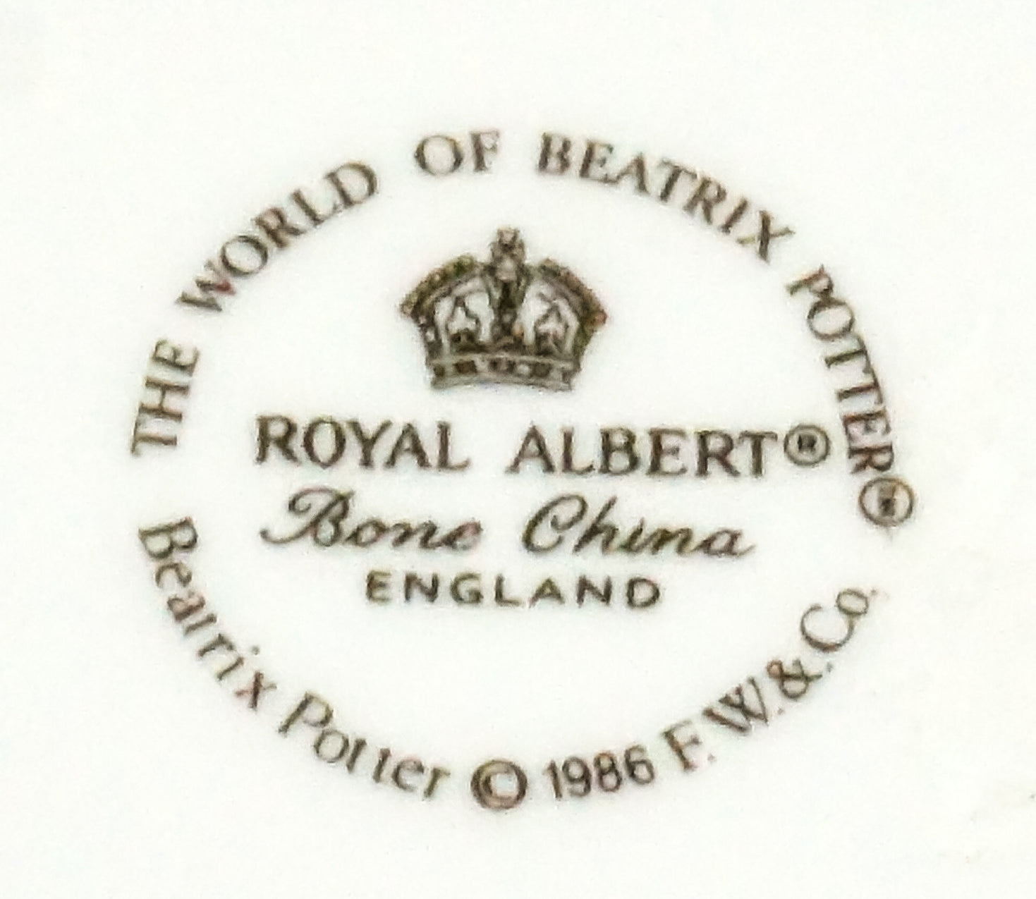 "Royal Albert - ""Tom Kitten"" Salad Plate"