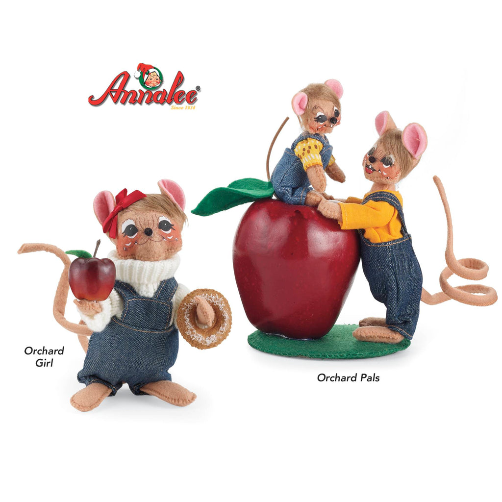 Annalee® Orchard Figurine Set