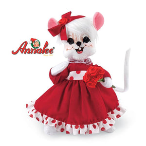 Annalee ; Roses Collectible Mouse by Potpourri
