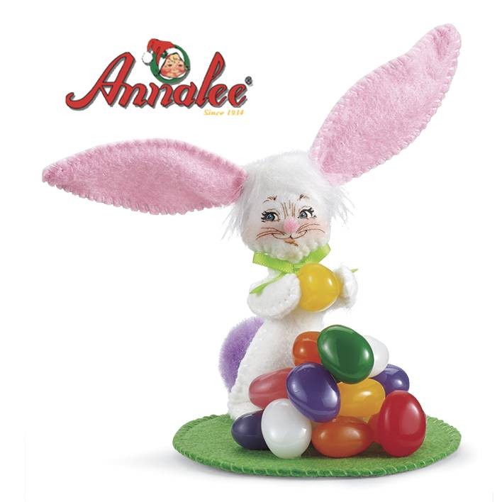 Annalee; Jellybean Bunny Collectible by Potpourri