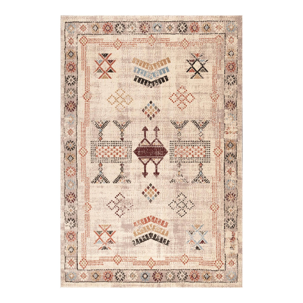 Beige Vintage Style Abby Area Rug - 5Ftx8Ft by World Market