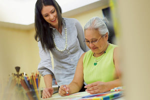 Crafting helps to improve the lives and spirits of Senior Citizens
