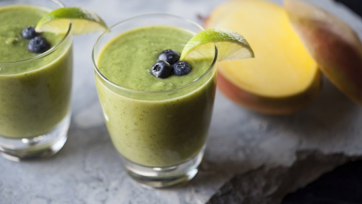 Happy Skinny Green Smoothie by Wholesome
