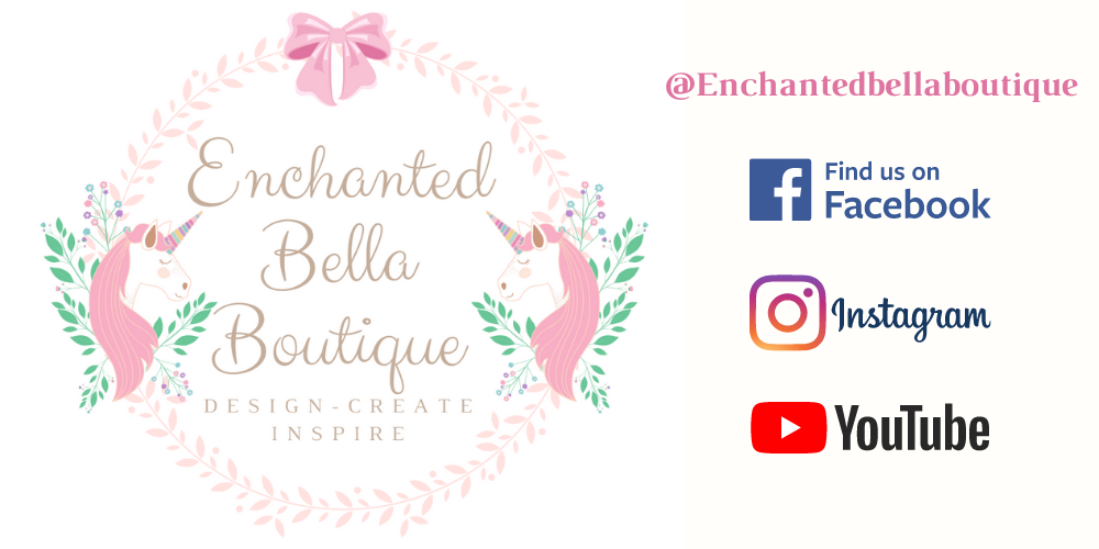 Enchanted Bella Boutique Logo & Social Media Links