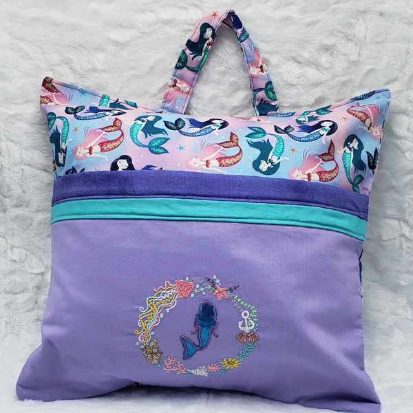 Mermaid Reading Pillow