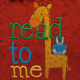 Read To Me Giraffe Reading Pillow