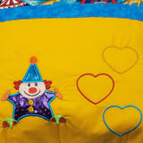 Circus Clown Pocket Reading Pillow