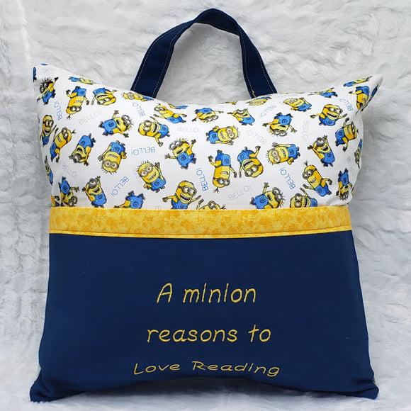 Minion Reasons To Love Reading Reading Pillow