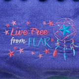 Live From Fear Dream Catcher Reading Pillow