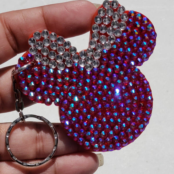 Bling Minnie Mouse Key Chain