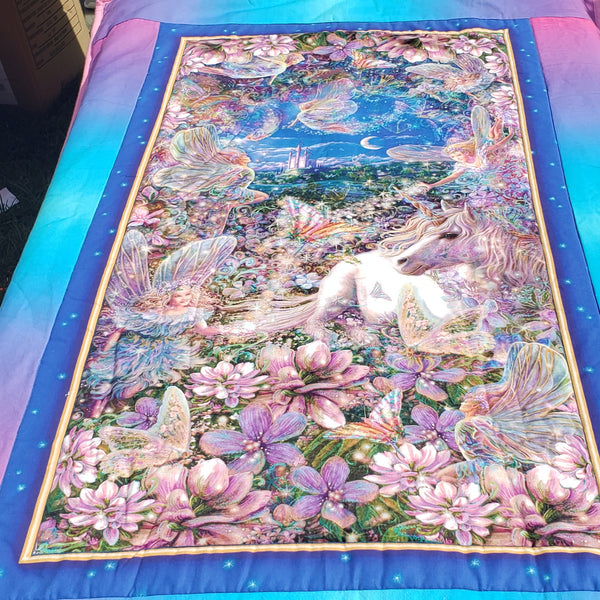 Enchanted Unicorn Quilt