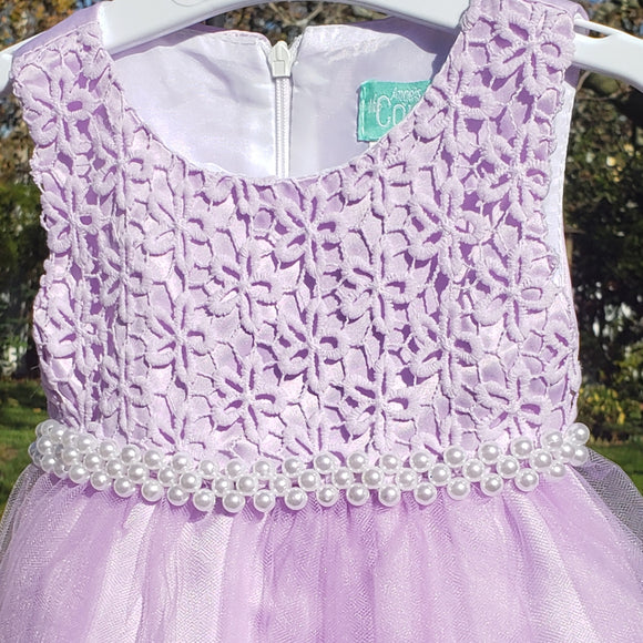 Pearl Purple Dress