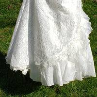 Victorian Flower Girl Dress (Light Cream Color)
