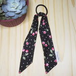 Cherry Removable Cotton Tail Hair Ties